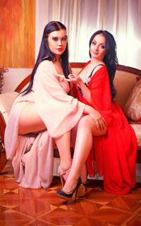 Проститутка Аня и Камилла